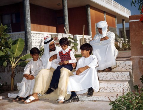 шейх Заед II с сыновьями