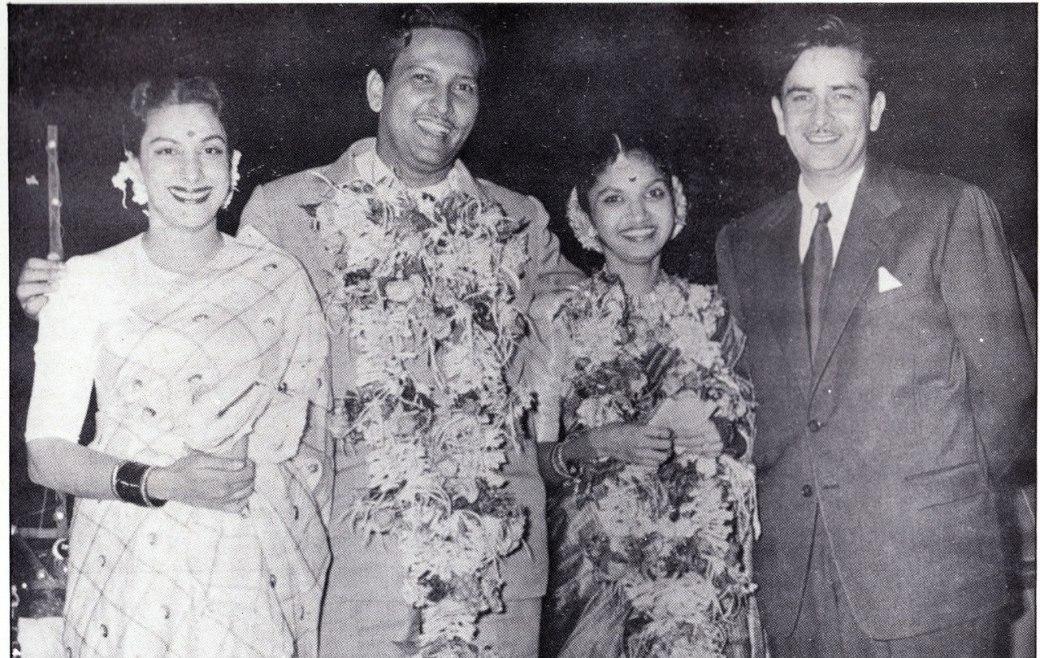 Наргис и Радж Капур