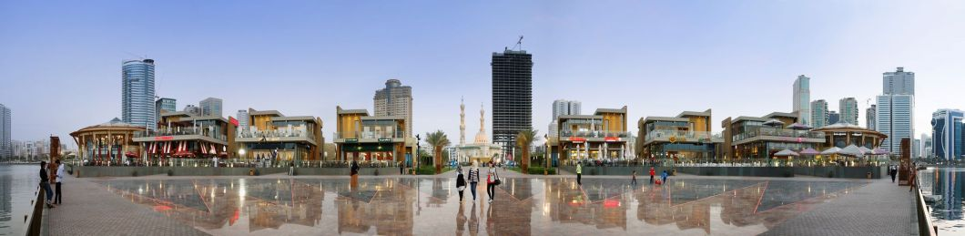 al majaz waterfront - fountain piazza_redtalk